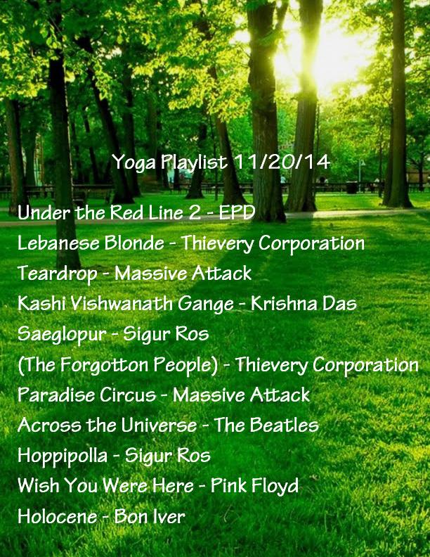 Yoga Playlist   Sara Green Eddy - Yoga & Fitness